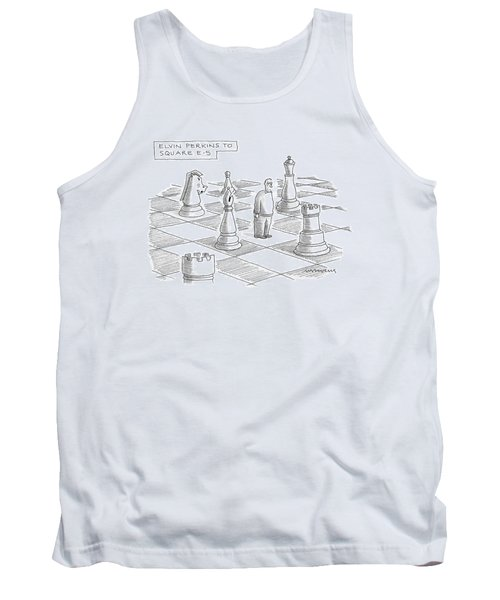 Elvin Perkins To Square E-5 Tank Top