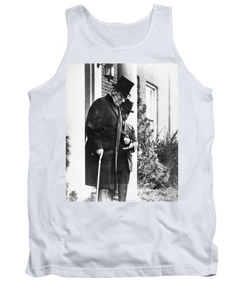 Tank Top featuring the photograph Woodrow Wilson (1856-1924) by Granger
