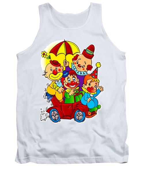 Clowns Series 01 Tank Top