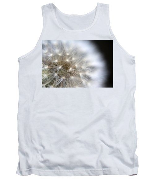 Dandelion Backlit Close Up Tank Top