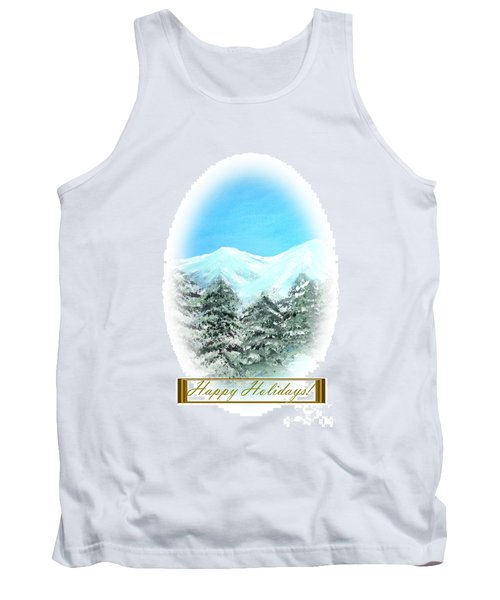 Happy Holidays. Best Christmas Gift Tank Top