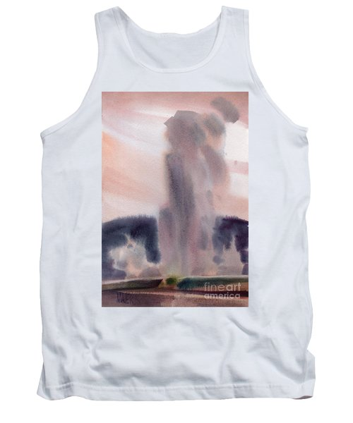 Old Faithful Tank Top by Donald Maier
