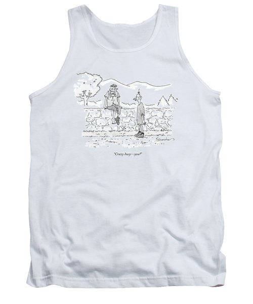 Crazy Busy - You? Tank Top