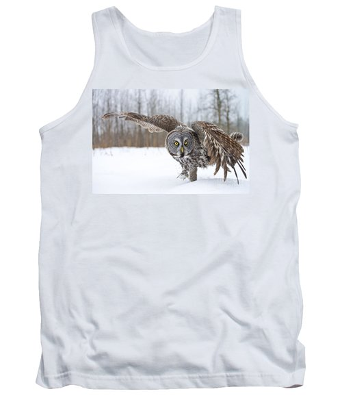 Great Gray Owl Tank Top