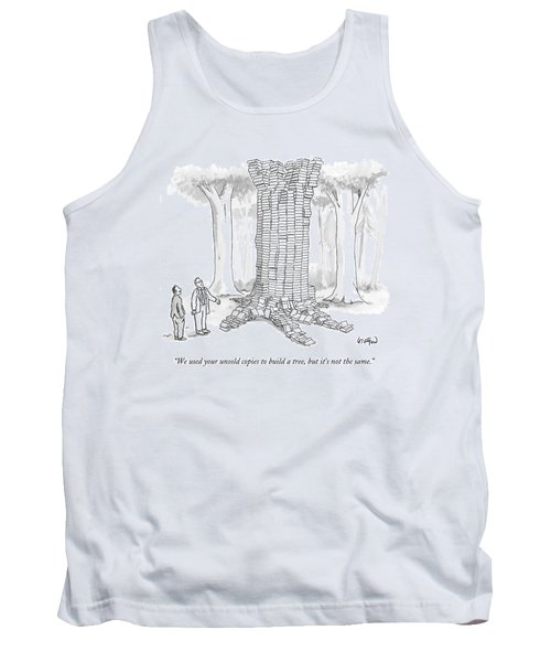 We Used Your Unsold Copies To Build A Tree Tank Top