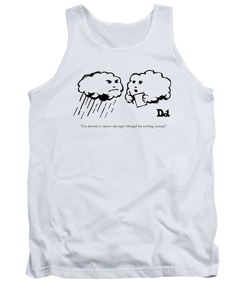 I've Learned To Express My Anger Tank Top
