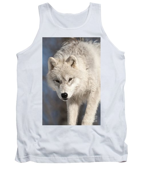 Arctic Wolf Pup Tank Top by Wolves Only