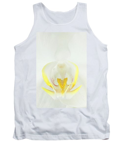 White Orchid-3 Tank Top