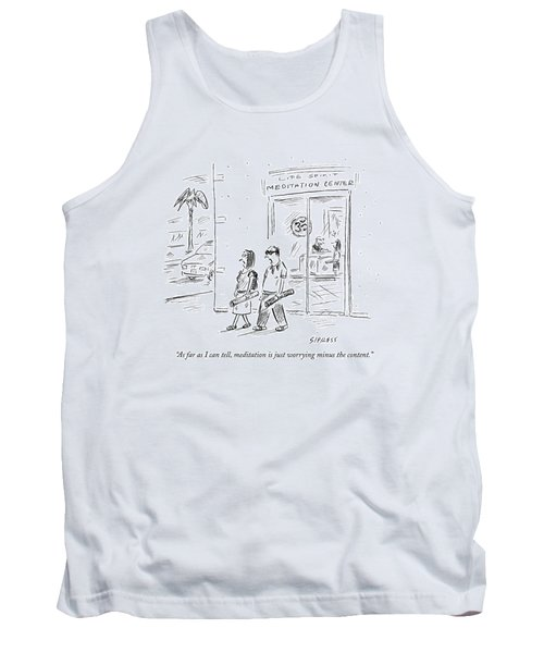 As Far As I Can Tell Tank Top