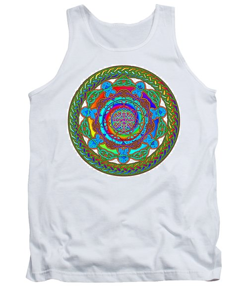7 Fish Rainbow Yahushuah Messiah Tank Top