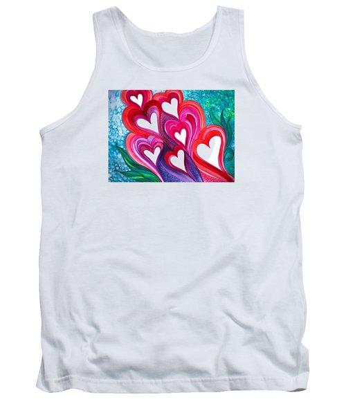 7 Hearts Tank Top