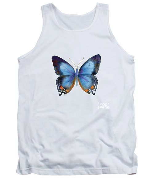 80 Imperial Blue Butterfly Tank Top