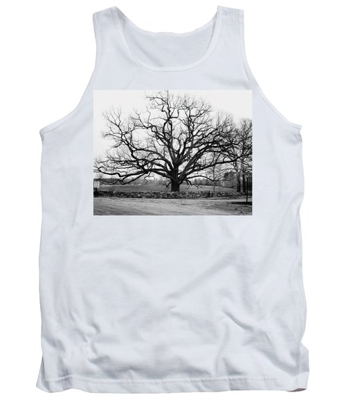 A Bare Oak Tree Tank Top