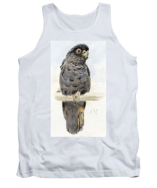 A Black Cockatoo Tank Top