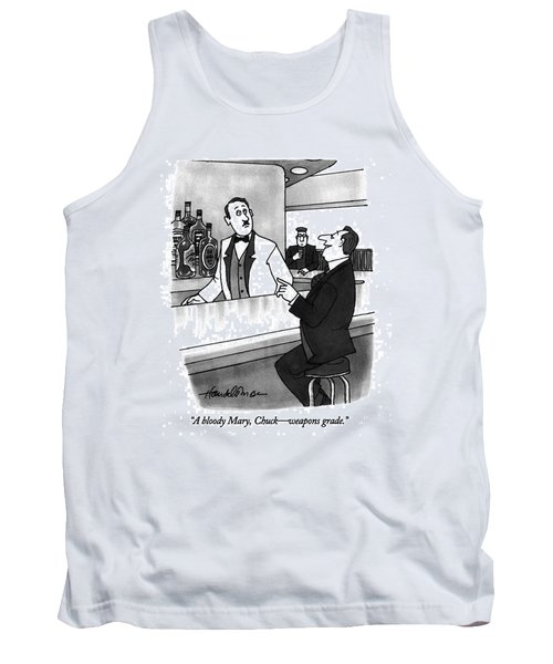 A Bloody Mary Tank Top