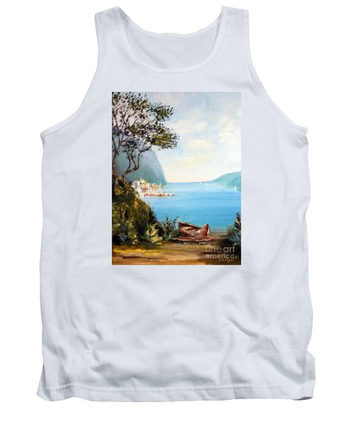 A Boat On The Beach Tank Top