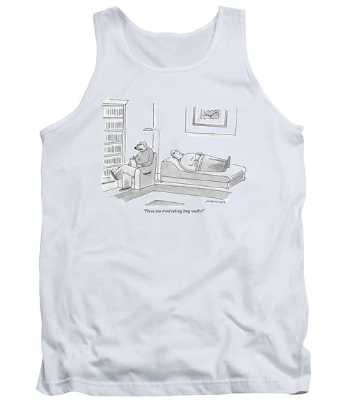 A Canine Psychologist Interviews His Human Tank Top