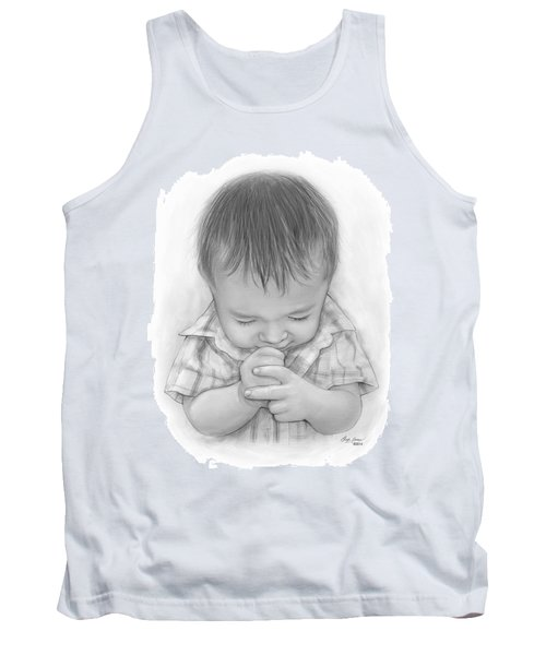 A Child's Payer Tank Top