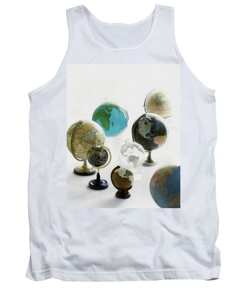 A Collection Of Globes Tank Top