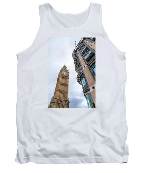 Tank Top featuring the photograph A Corner In London by Tim Stanley