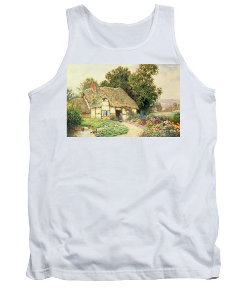 A Cottage By A Duck Pond Tank Top