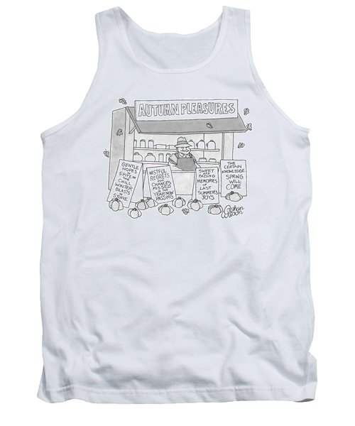 A Country Stand With The Title Tank Top