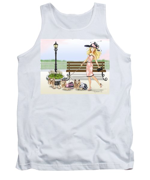 A Day At The Derby Tank Top