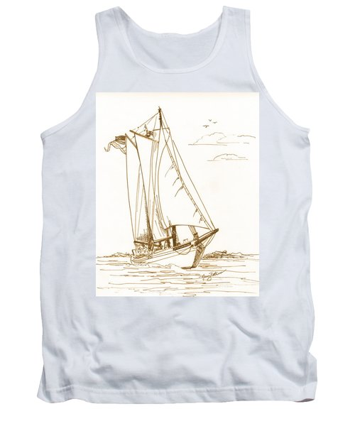 A Day On The Bay Tank Top