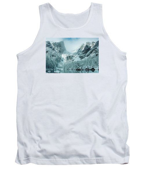 A Dream At Dream Lake Tank Top by Eric Glaser