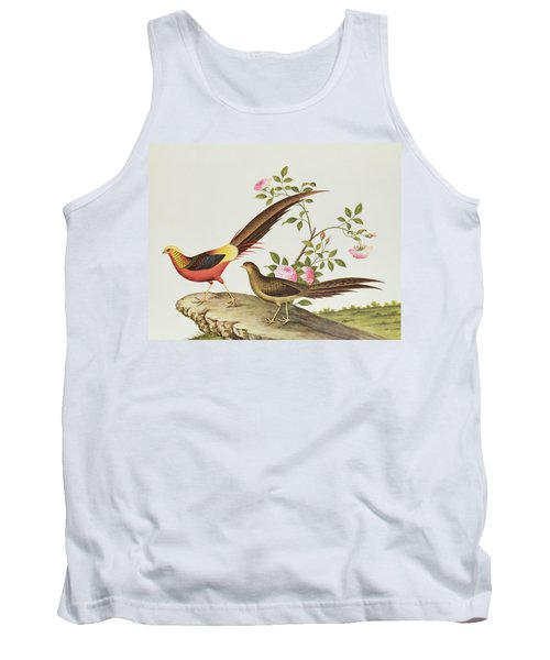 A Golden Pheasant Tank Top by Chinese School
