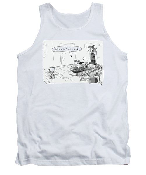 A Greasy Plate Of Pancakes Tank Top
