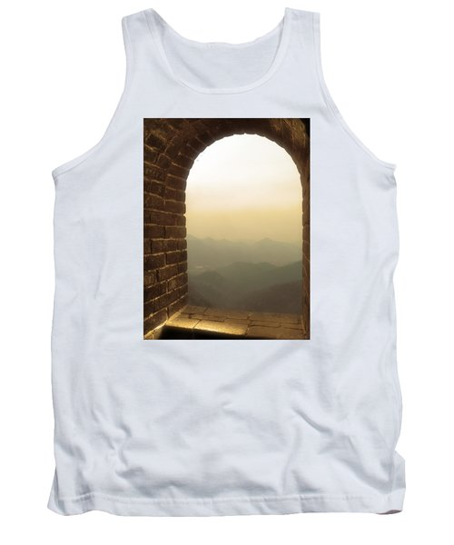 A Great View Of China Tank Top by Nicola Nobile