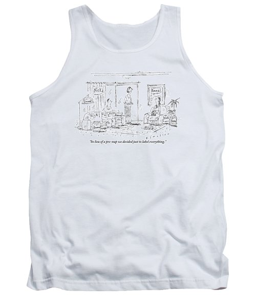 A Husband And Wife Talk To A Friend Tank Top