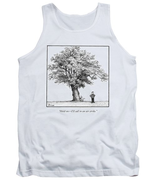 A Man Says To His Dog Tank Top