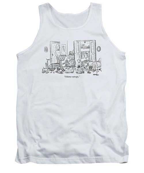 A Mother Stands Angrily In The Doorway Tank Top