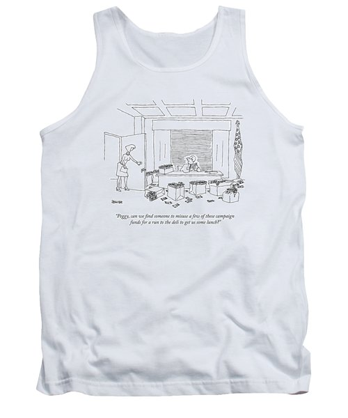 A Politician Tank Top