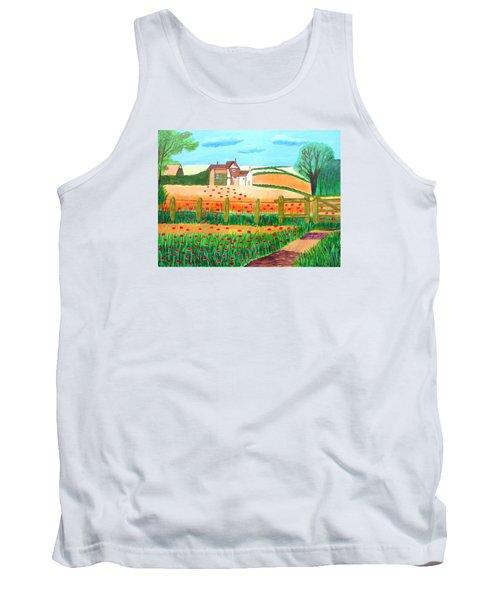A Poppy Field Tank Top