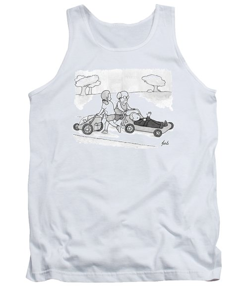 A Psychiatrist Is Jogging In The Park Tank Top