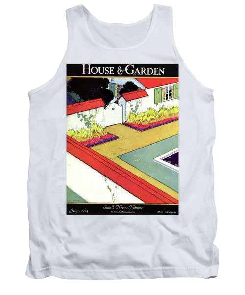 A Reflecting Pool And Garden Tank Top