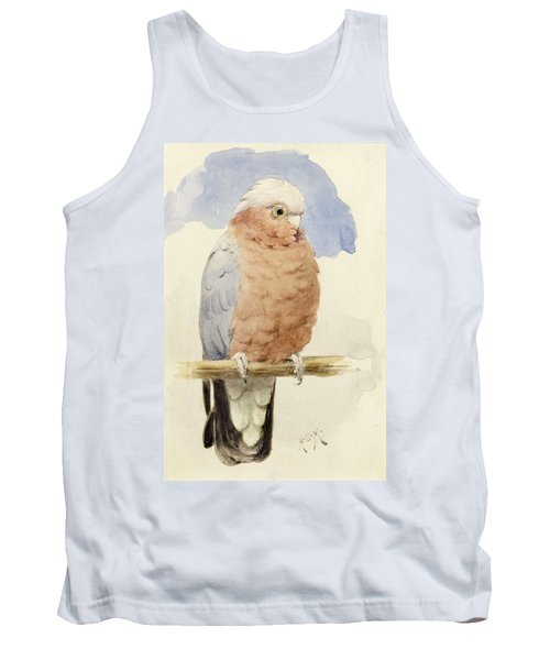 A Rose Breasted Cockatoo Tank Top