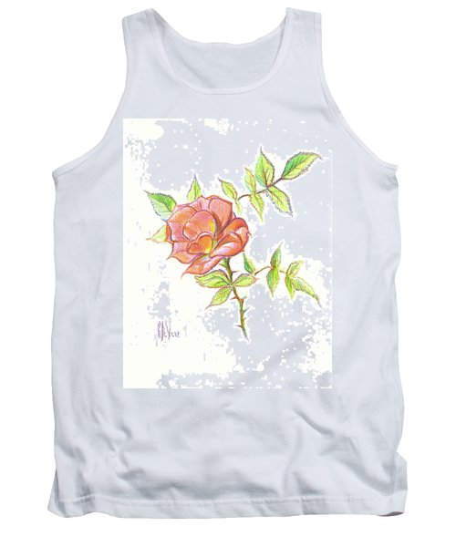 A Rose In Brigadoon Tank Top