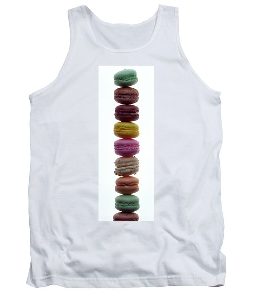 A Stack Of Macaroons Tank Top