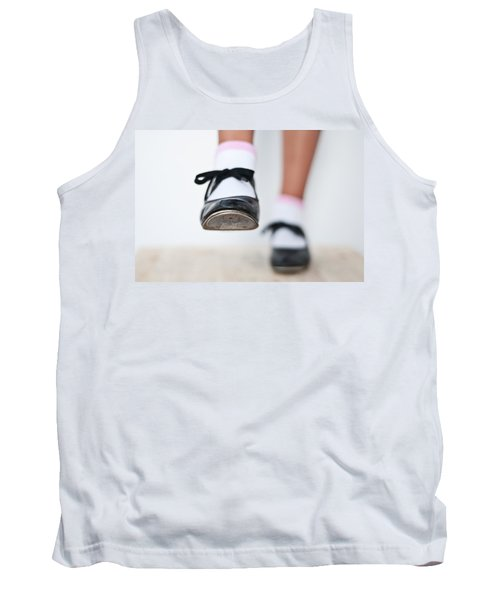 Old Tap Dance Shoes From Dance Academy - A Step Forward Tap Dance Tank Top