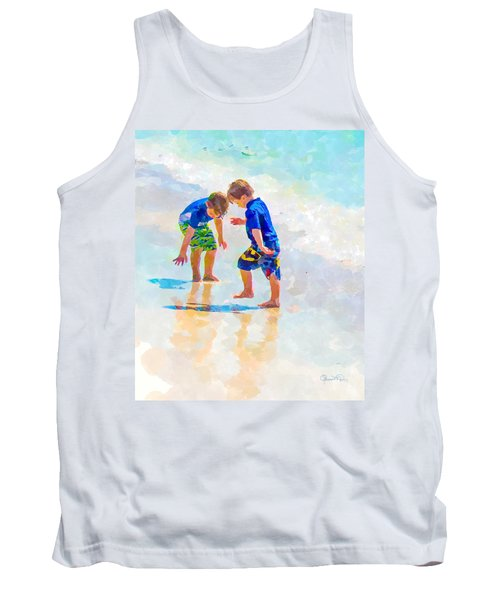 A Summer To Remember Iv Tank Top by Susan Molnar