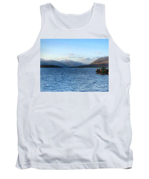 A Sunny Day At Ullapool Tank Top
