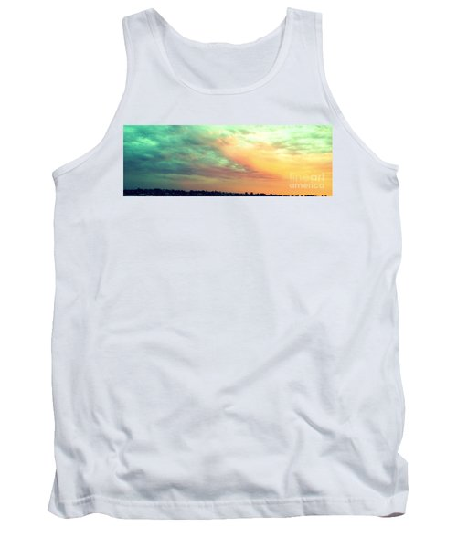 Tank Top featuring the photograph A Sunset by Roberto Gagliardi