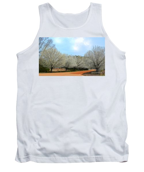 Tank Top featuring the photograph A Touch Of Spring by Kathy Baccari