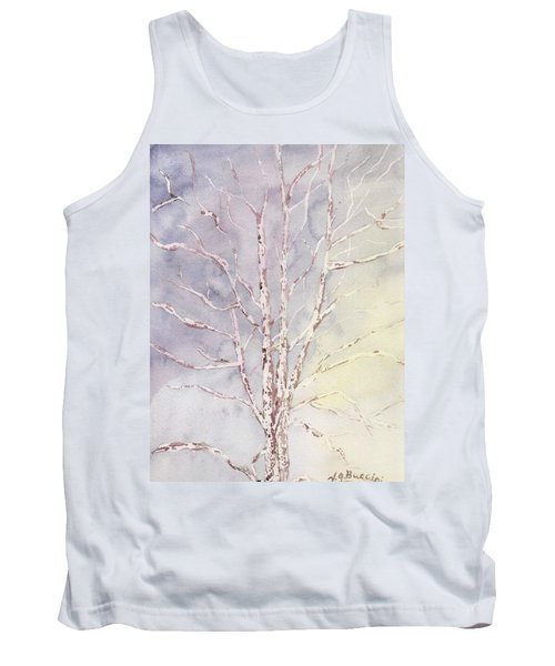 A Tree In Winter Tank Top by Vickie G Buccini