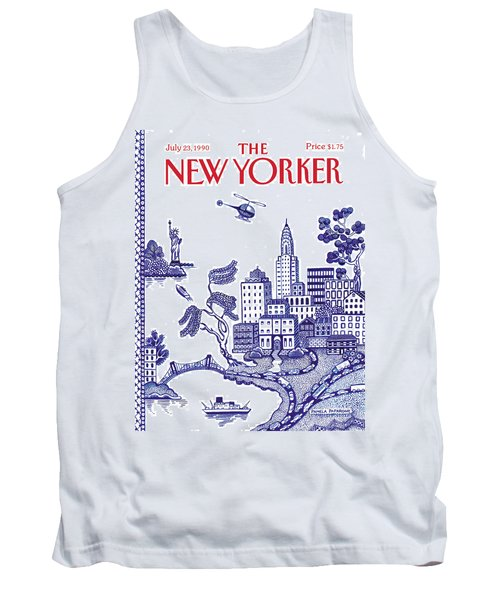 A View Of New York City Tank Top