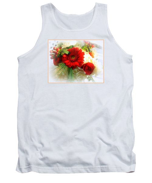 A Vision In Red Tank Top by Dora Sofia Caputo Photographic Art and Design